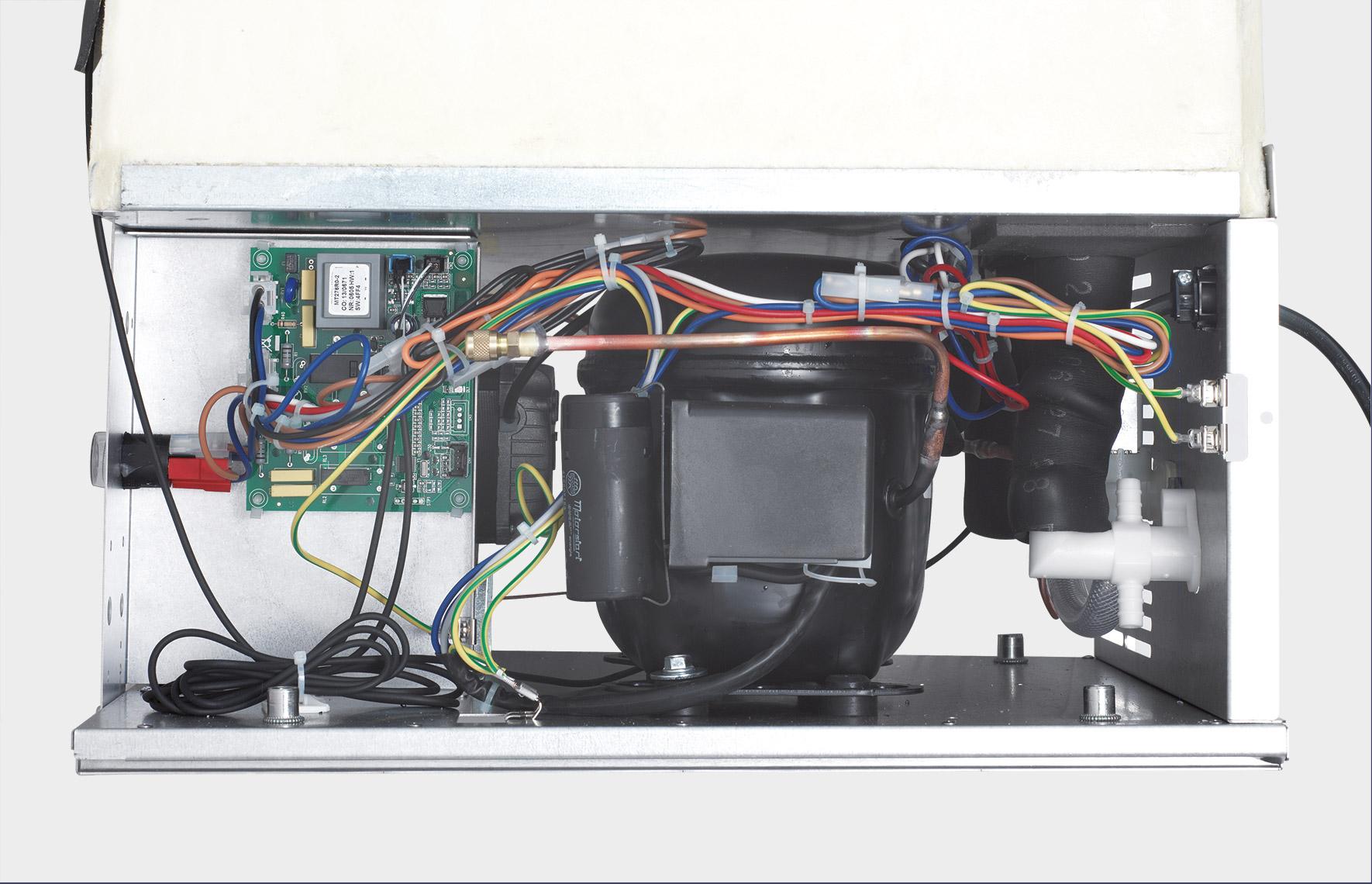 Self-test electronic control